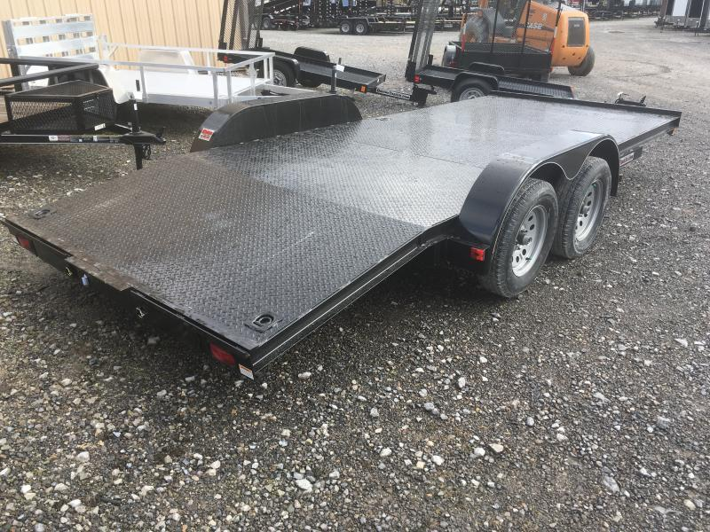 2019 Quality Trailers 82x18 steel car hauler Car / Racing Trailer