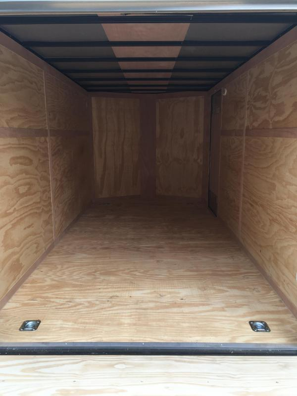 2019 Continental Cargo 7x14 vnose sd ramp door Enclosed Cargo Trailer