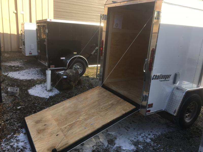 2019 Homesteader Inc. 5x8 challenger sd ramp door 6in extra ht Enclosed Cargo Trailer