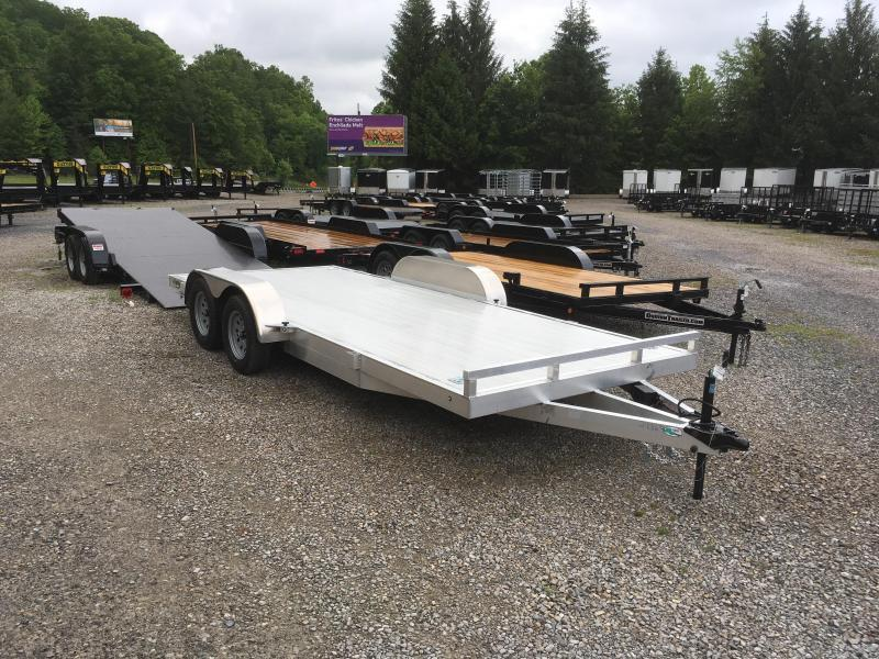 2019 Lightning 18ft aluminum car hauler Car / Racing Trailer