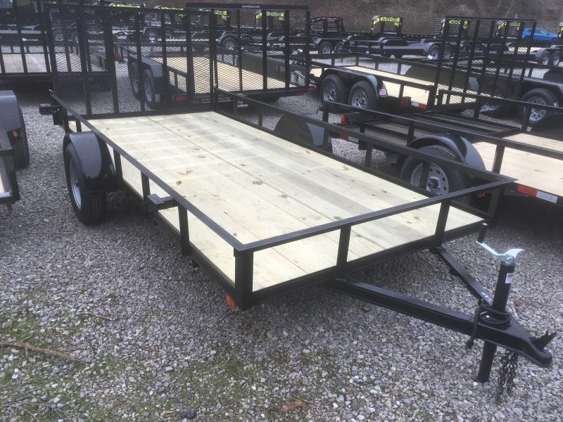 2019 Other 76x14 afg basic utility single axle Utility Trailer