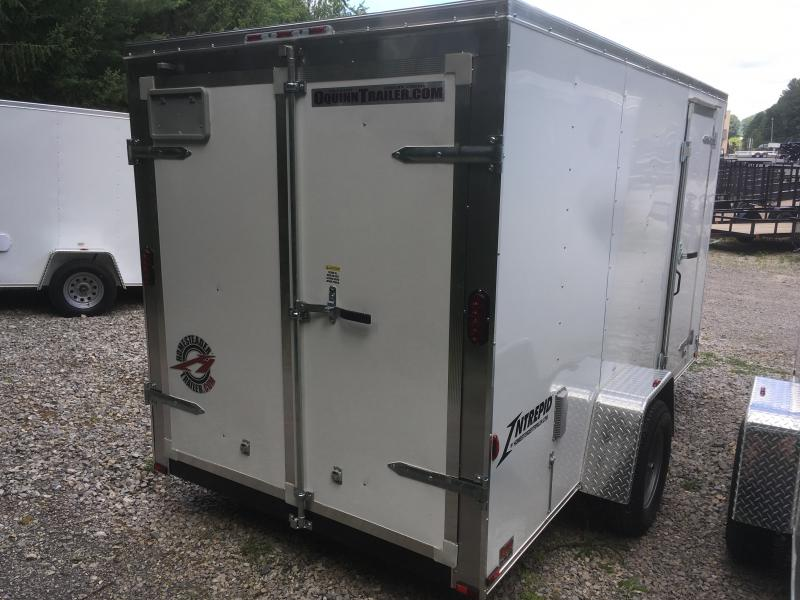 2019 Homesteader Inc. 6x12 Intrepid double door single axle Enclosed Cargo Trailer