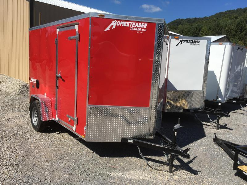 2019 Homesteader Inc. 6x10 intrepid ramp single axle Enclosed Cargo Trailer