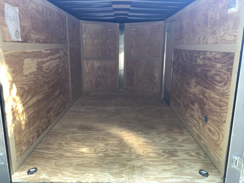 2019 Homesteader 7x12 Intrepid ramp door single axle Enclosed Cargo Trailer