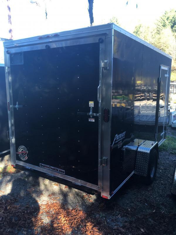 2020 Homesteader 7x12 intrepid single axle 12in extra ht ramp door Enclosed Cargo Trailer