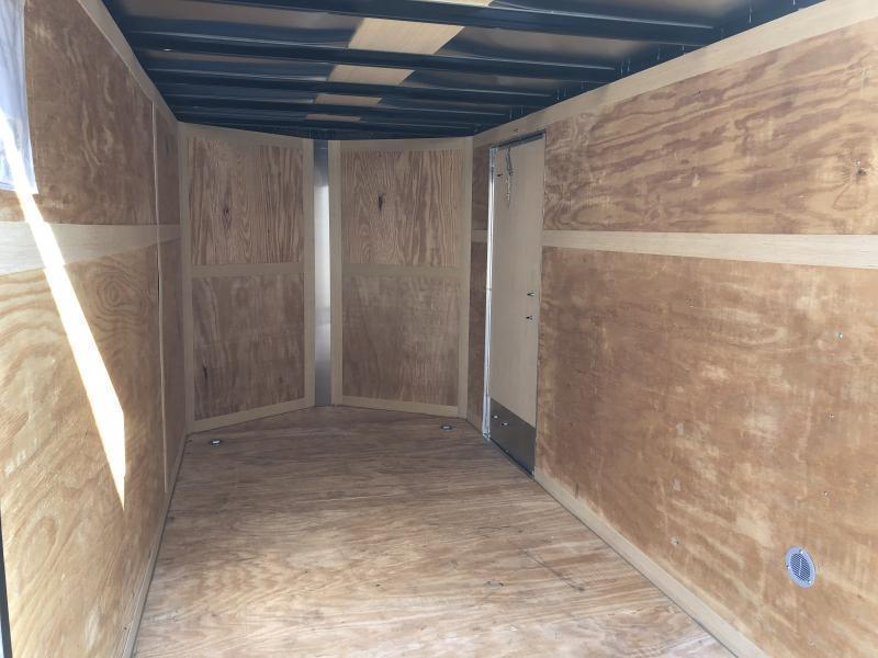 2019 Homesteader Inc. 6x12 intrepid sd ramp single axle Enclosed Cargo Trailer