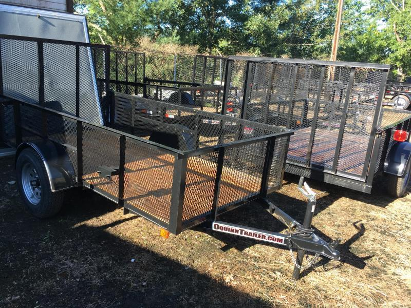 2019 Other (Not Listed) 5x10 2ft mesh sides single axle Utility Trailer