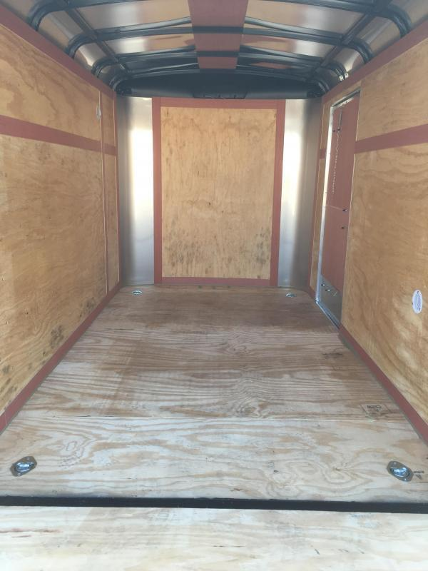 2018 Homesteader Inc. 6x10 challenger Enclosed Cargo Trailer