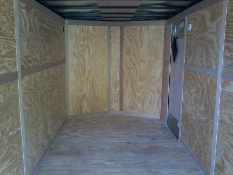 "2019 Continental Cargo 7x14 vnose 6"" extra ht. sd ramp door Enclosed Cargo Trailer"