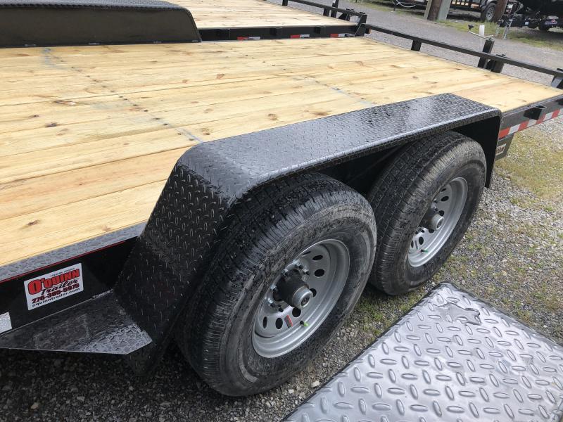 2019 Quality Trailers 82x16 7ton bumper pull Equipment Trailer