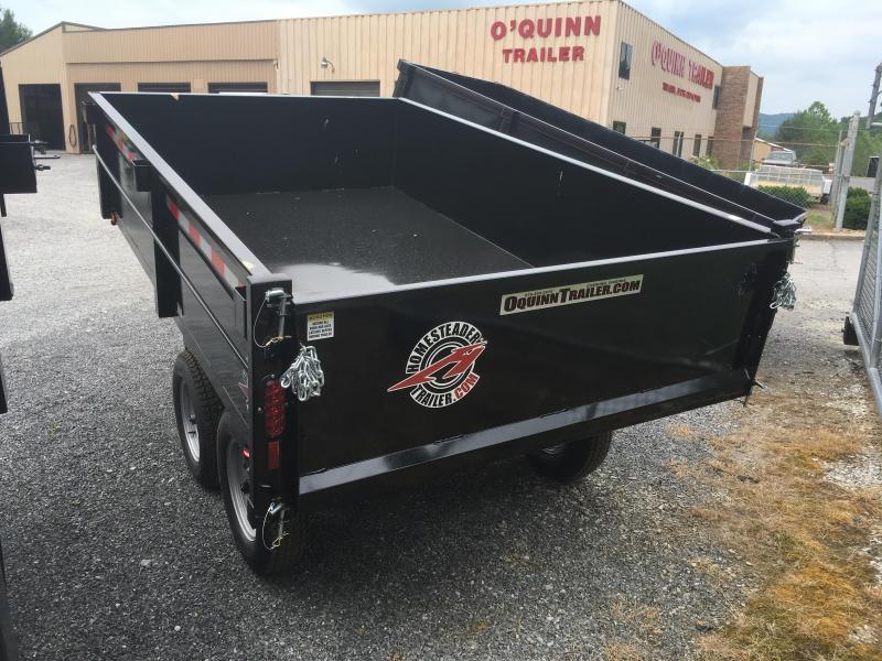 2019 Homesteader 6x10 3.5 ton dump Dump Trailer