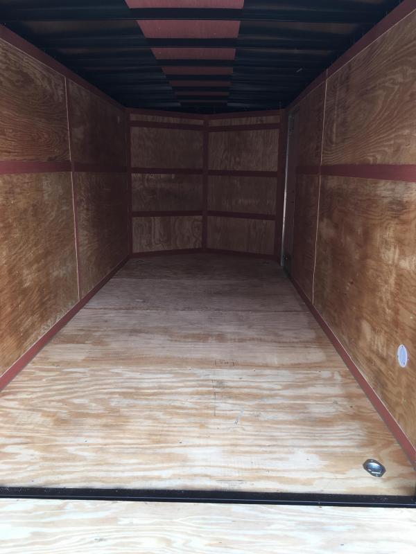 2019 Homesteader 7x16 Intrepid 6in extra height sd ramp Enclosed Cargo Trailer