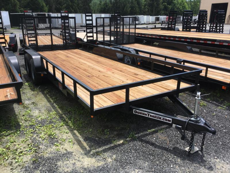 2019 Gatormade Trailers 82x20 Utility Trailer