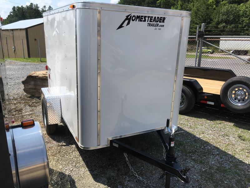 2020 Homesteader 5x8 fury Enclosed Cargo Trailer