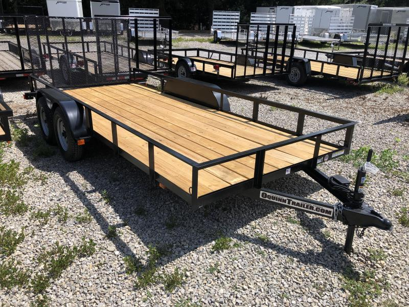2019 Triple Crown 76x16 tandem axle w/gate Utility Trailer