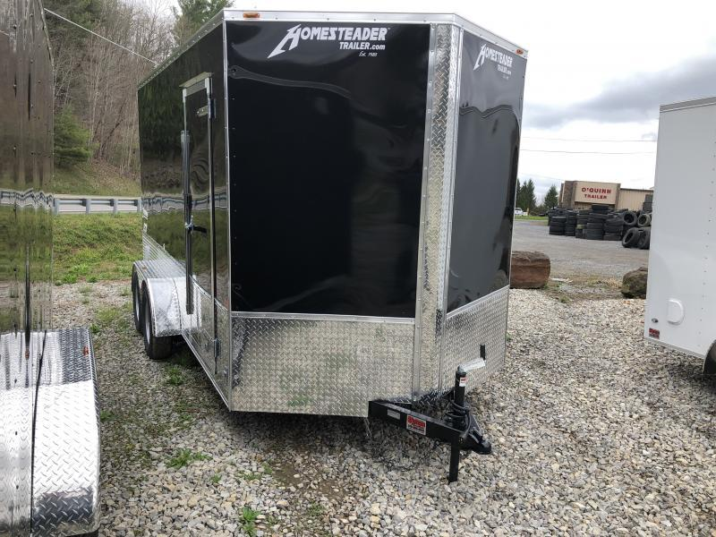 "2019 Homesteader 7x14 Intrepid OHV Pkg 12"" EXTRA HT Enclosed Cargo Trailer"
