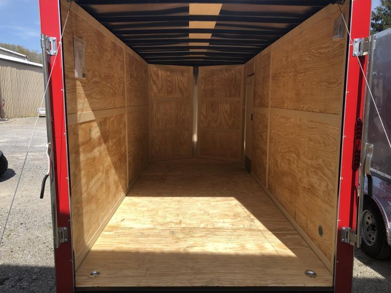 2020 Homesteader 7x16 Intrepid sd ramp OHV pkg 1ft extra height Enclosed Cargo Trailer