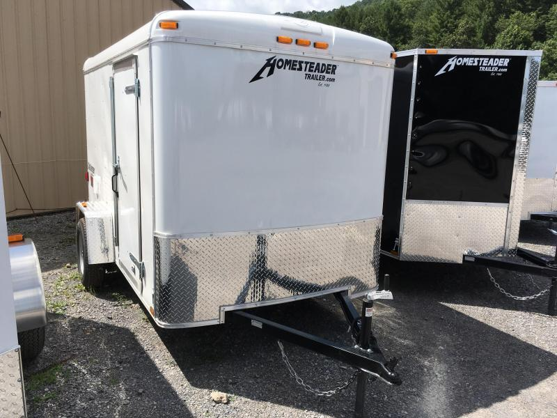 2018 Homesteader Inc. 6x10 challenger sd ramp Enclosed Cargo Trailer