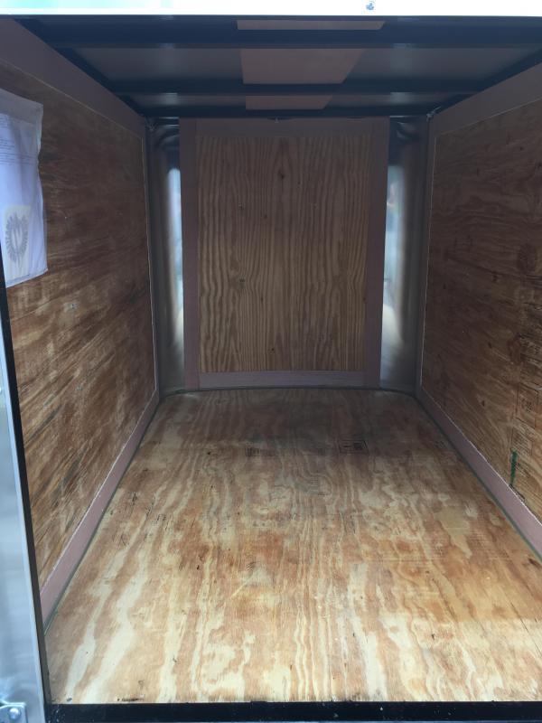 2019 Homesteader 4x6 swing door Enclosed Cargo Trailer