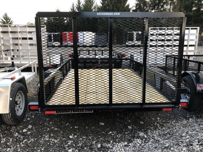 2019 Gatormade Trailers 76x10 gate single axle Utility Trailer
