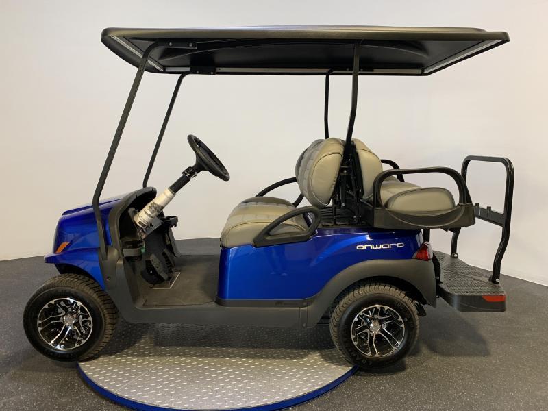 2019 Club Car Onward 4 Passenger Metallic Blue Pearl Gas