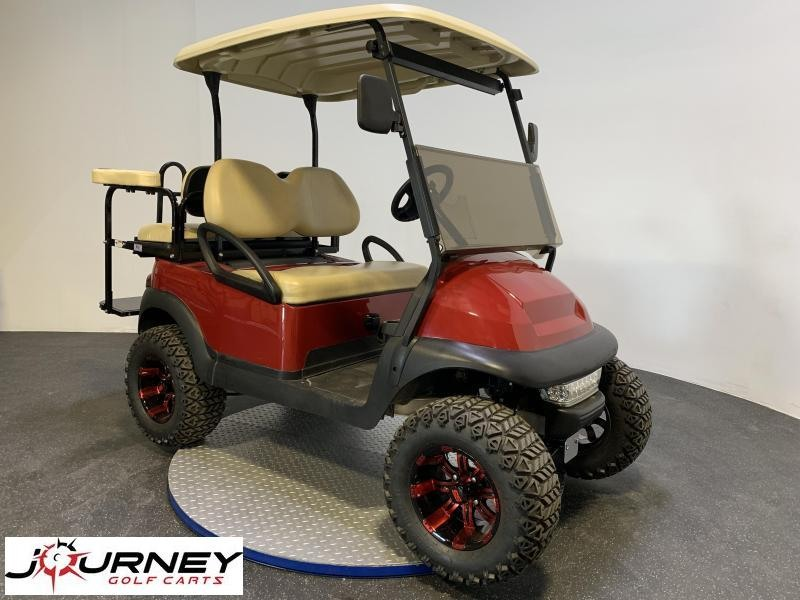 2017 Club Car Precedent Lifted 4 Passenger Custom Wheels Led
