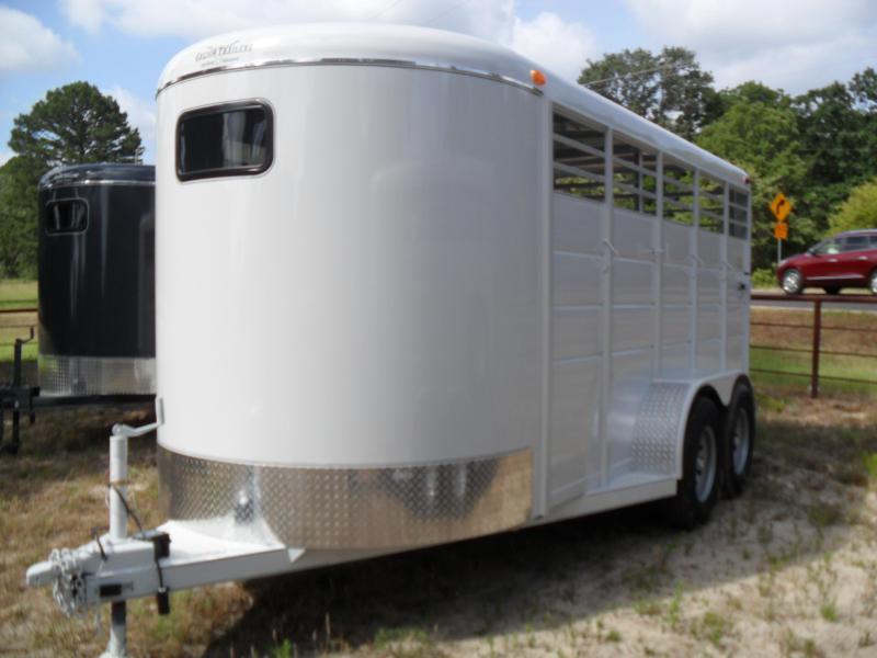 2019 Calico Trailers 16 bumper pull Livestock Trailer