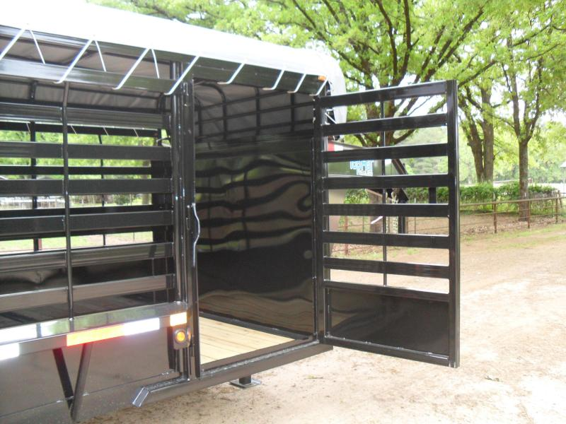 2019 Top Hat Trailers 32 x 68 Bar Top Cattle Farm Other Trailer