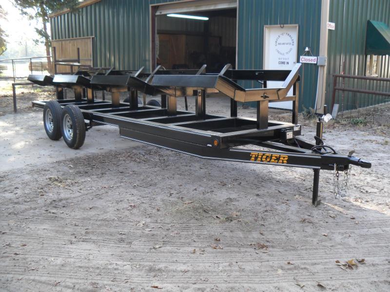 2019 Tiger 4 bale hay hauler farm Utility Trailer