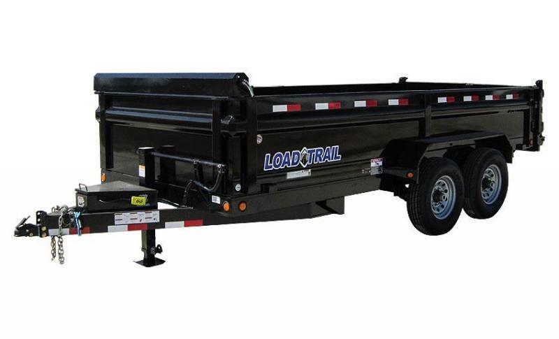 Load Trail DT14 83 X 14 Scissor Lift Dump Trailer