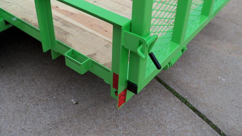 12*077 4' GATE GREEN