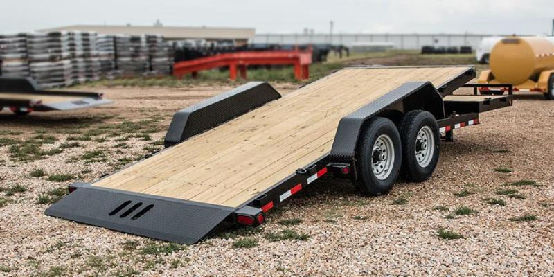 "81.5"" X 20' Tandem Axle Tilt Deck w/Gravity"