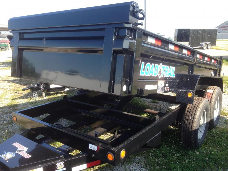 Load Trail 10 X 83 DT Dump Trailer