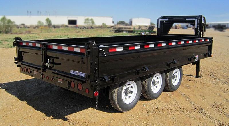 Load Trail GZ21 96 X 16 Triple Axle 21K Dump Trailer
