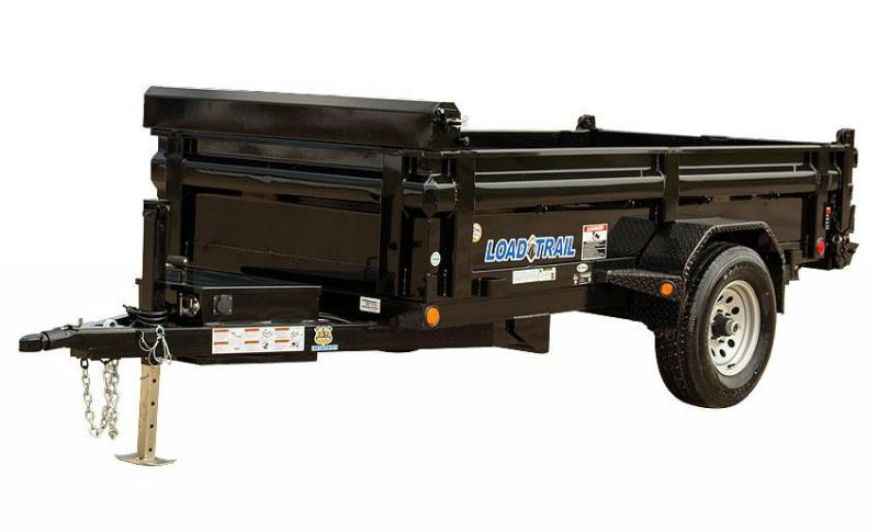 Load Trail DS05 5.2K Single Axle Dump Trailer