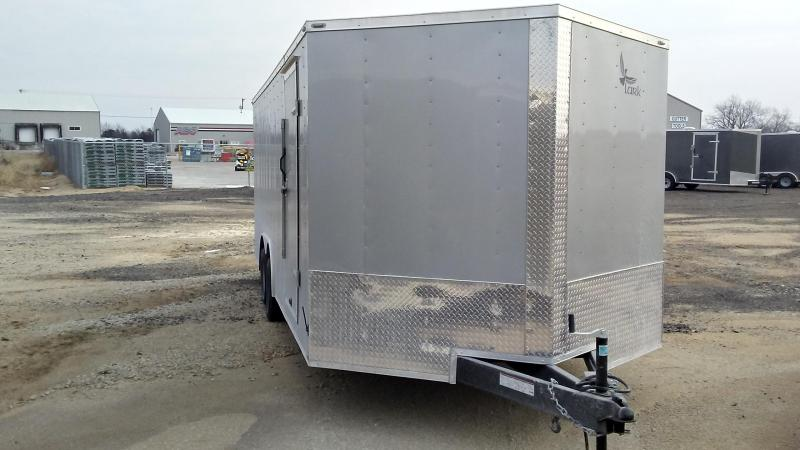 2017 Lark 20 X 8.5 Enclosed Cargo Trailer