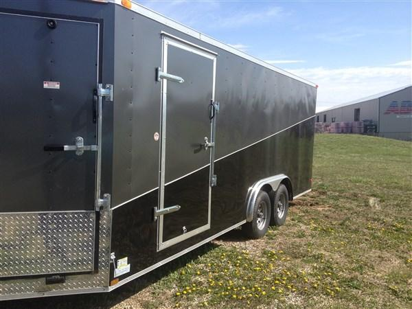 2017 Look 8.5 X 23 Vision Puresport Snowmobile Trailer
