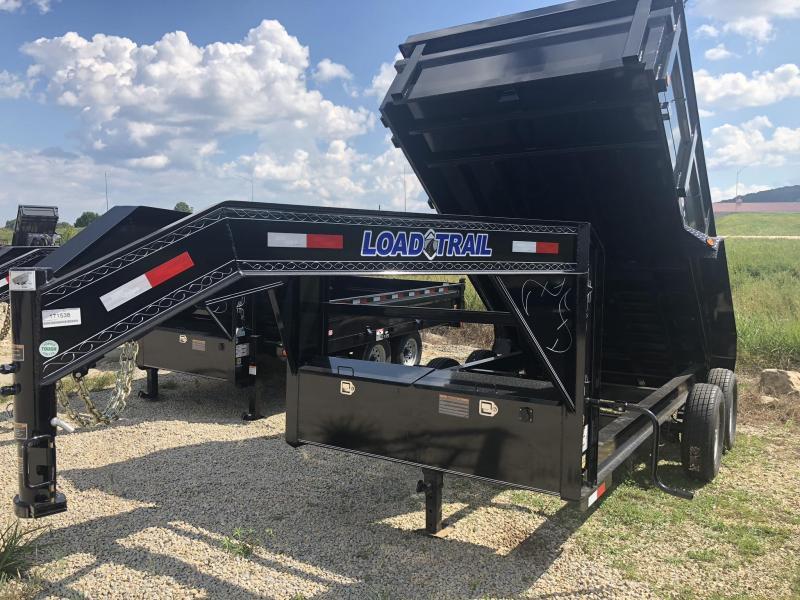 "2019 Load Trail 83"" X 16' Tandem Axle Gooseneck Dump Dump Trailer"