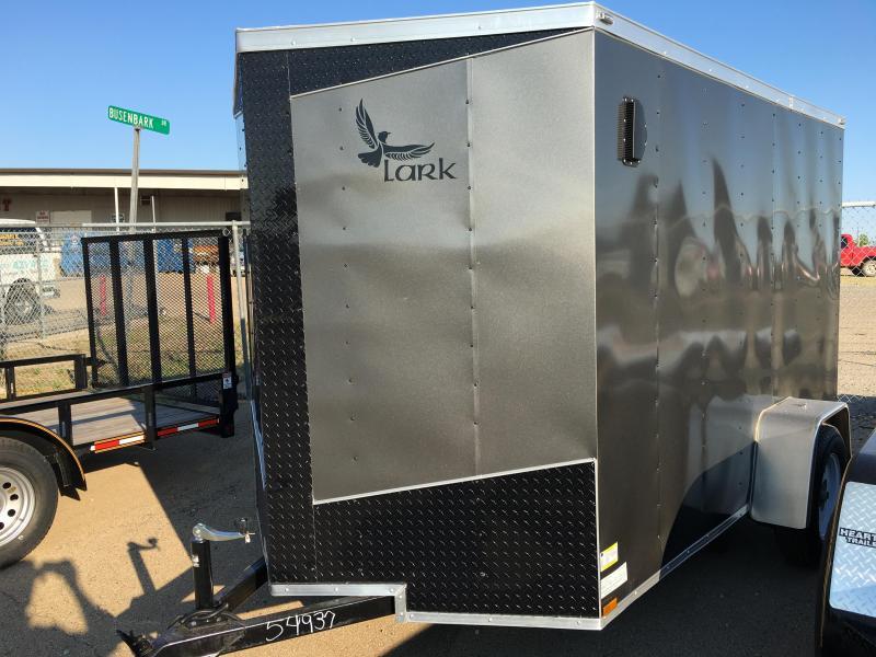 Lark 6 X 10 V-Nose Enclosed Cargo Trailer
