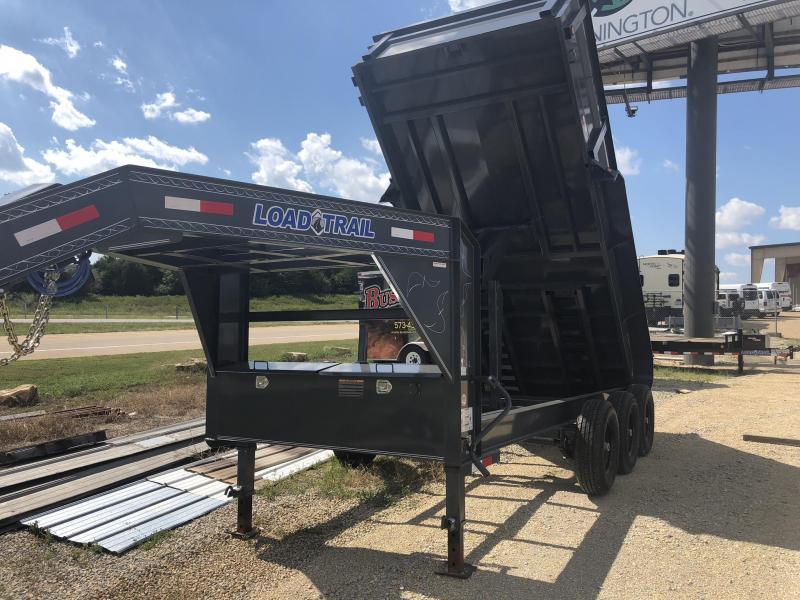"2019 Load Trail 83"" X 16' Triple Axle Gooseneck Dump Dump Trailer"