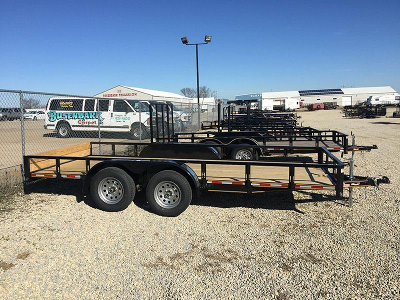 Heartland 18 X 76 Flatbed Trailer