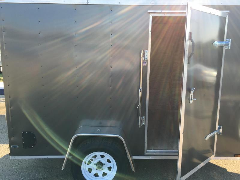 Lark 6 X 10 V-Nose Enclosed Cargo Trailer
