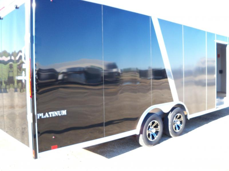 2020 ALUMINUM SNOWMOBILE PLATINUM Puresport Auto Flat Top Car / Racing Trailer