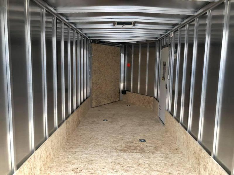 7x29ft 5-place Snow Trailer - 7ft Inside Height - All Aluminum