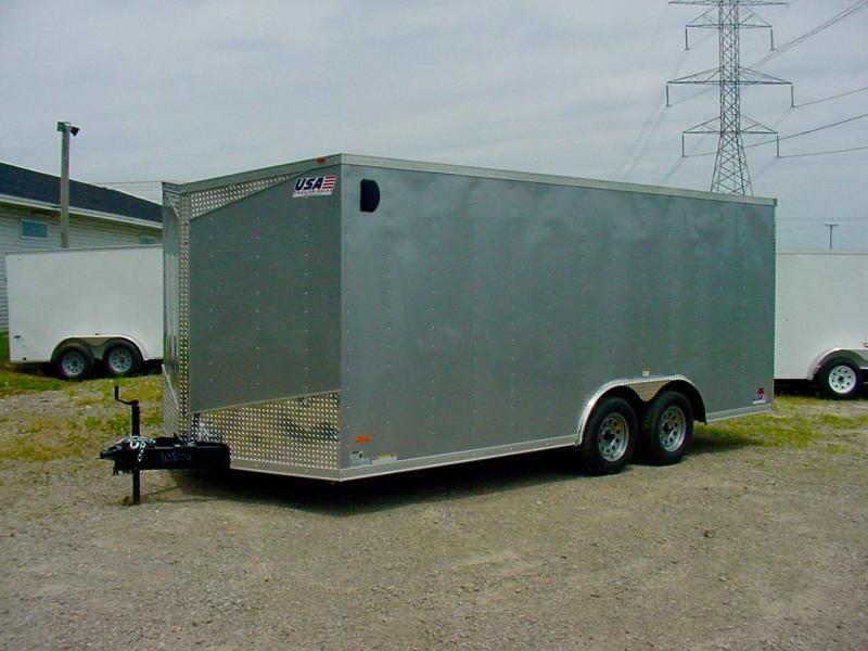 8'-Wide Enclosed Car Hauler OVERSTOCK SALE! *24ft Models Under $6000!*