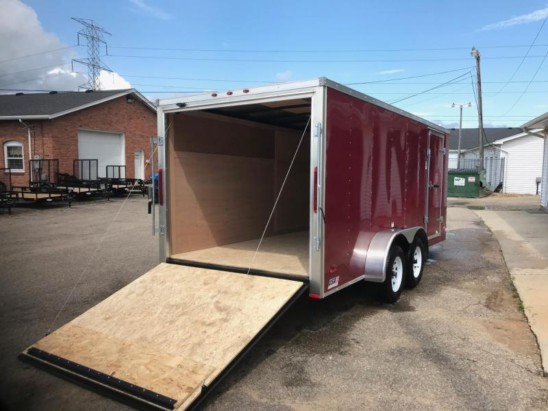 OLD STOCK 7x14 USA Model w/ Ramp Door