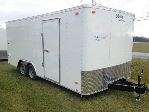 8x18 LOOK Enclosed Car Hauler Trailer