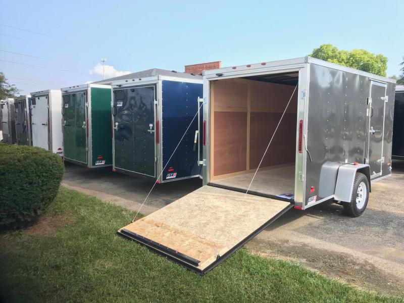 6x14 USA Model w/ Ramp Door