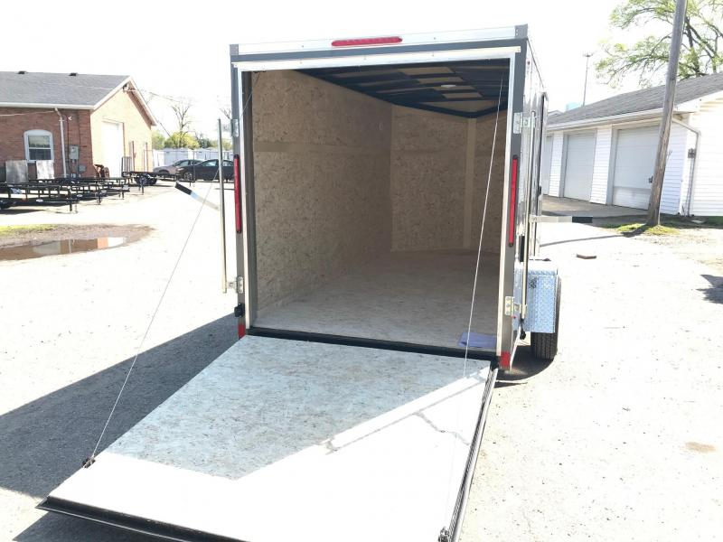 6x14 LOOK DLX w/ Ramp Door