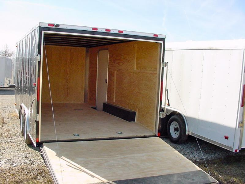 8x20 LOOK Enclosed Car Hauler Trailer
